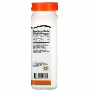 21st Century, Витамин C, 500 мг, 250 таблеток