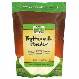 Now Foods, Натуральные продукты, порошок пахты, 14 жидких унций (397 г)