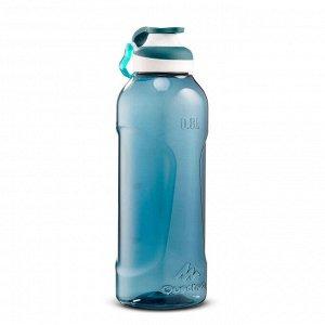 Фляга походная с крышкой быстрого открывания 0,8 л пластик тритан синяя 500
