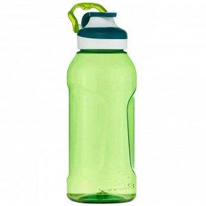Фляга походная с пробкой быстрого открывания 0,5 л пластик (тритан) зеленая 500