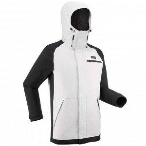 Куртка для лыж и сноуборда мужская серая SNB JKT 100