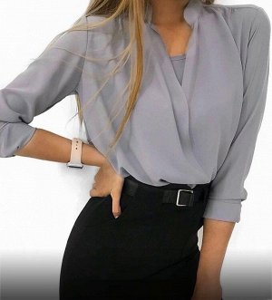 Блузка 2в1 Ткань : Бенгалин
