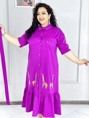Платье Ткань:лайт Длина 124 см Объем груди 54р 116см 56р 122см 58р 124см 60р 128см