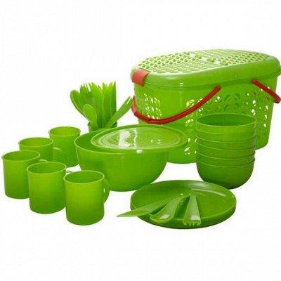 готовим с удовольствием- кастрюли. сковороды — ТОВАРЫ ДЛЯ ТУРИЗМА И ОТДЫХА — Пластмассовая посуда