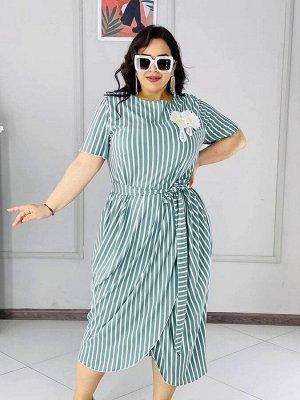 Платье Ткань :лакоста С поясом в комплекте. Длина изделия 124 см  Параметры 50р ог 100 от 88 52р ог 104 от 94 54р ог 108 от 100 56р ог 110 от 102
