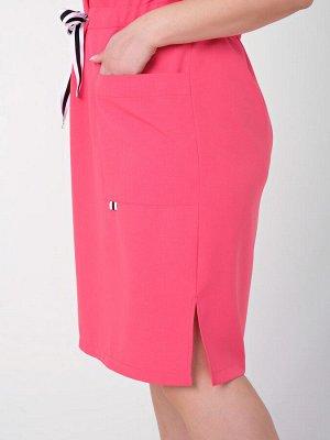 Платье 0085-4 розовый