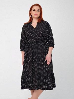 Платье 0166-1 черный