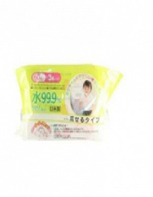 Детские влажные салфетки (водорастворимые) 180 х 150 мм, 60 штук х 3 упаковки / 16