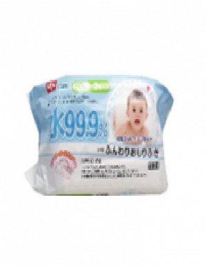 Детские влажные салфетки (увлажняющие) 180 х 150 мм, 80 штук х 3 упаковки / 16