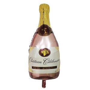 Фигура бутылка Шампанское Pink 49см Х 98см