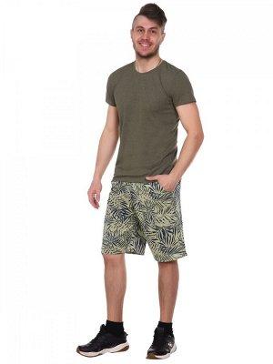 Костюм хлопок 100% Описание: Удобный летний костюм с шортами и футболкой. Яркие шорты с поясом на резинке, по бокам карманы. Однотонная футболка классического кроя.