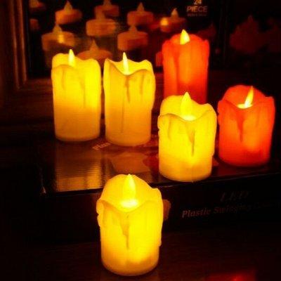 ❤ВАКУУМ+ Товары для кухни, ванной, интерьера итд. Новинки! — Светодиодные свечи — Свечи и подсвечники