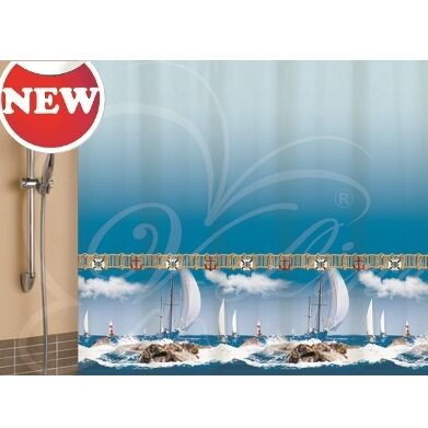 Уютная прихожая-банкетки, пуфики — Шторы для ванной комнаты, банные аксессуары