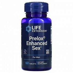 Life Extension, Prelox Enhanced Sex, для мужчин, 60 таблеток