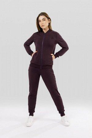 Комплект толстовка/брюки:жен. МОДЕЛЬ 19. Аметист