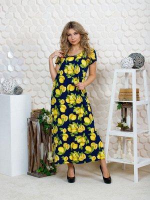 """643 Платье""""лимоны"""""""