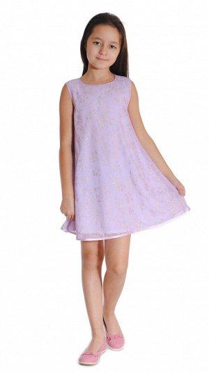 Платье сиреневый