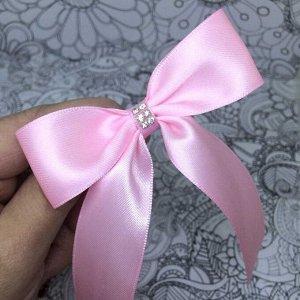 Бант для девочек Лицей розовый