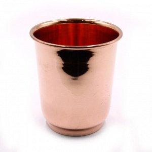 Медный стакан для настаивания медной воды d-9см h-10см 400ml 138g