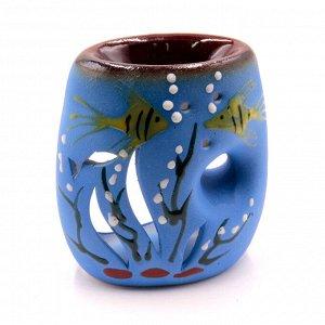 Аромалампа Рыбки 11 см керамика