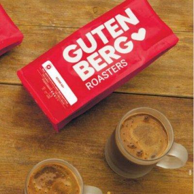 GUТenberg — чай и кофе, от турки до ложечки 25, Весна — кофе gut! 1кг  в зернах свежеобжаренный/эспрессо-смеси — Чай, кофе и какао