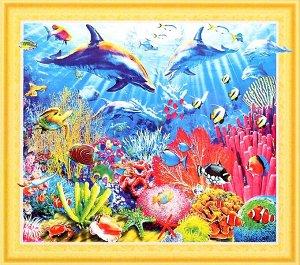 Алмазная мозаика 3D Коралловый риф