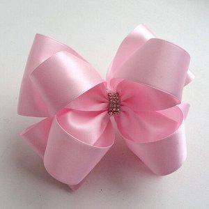 Красивый бант Верона розовый