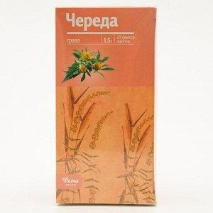 Череда трава, 20 фильтр пакетов по 1.5 г