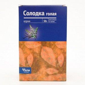 Солодка голая корни, 50 г