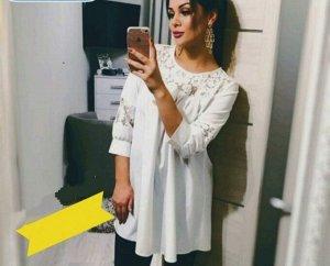 Блузка Ткань Хорошй Лайт