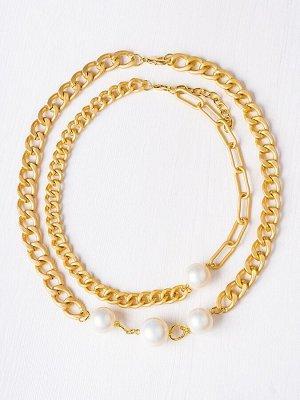 10144911 Колье Street Fashion - Бижутерия Selena