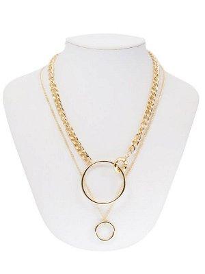 10130881 Колье Street Fashion - Бижутерия Selena