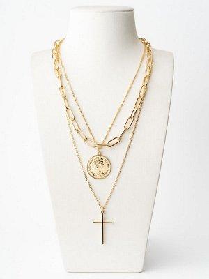 10147411 Колье Street Fashion - Бижутерия Selena