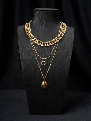 10149091 Колье Street Fashion - Бижутерия Selena