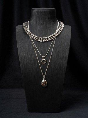 10149101 Колье Street Fashion - Бижутерия Selena