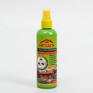 """Лосьон-спрей """"Argus"""", универсальный, от комаров, клещей, мокрецов, москитов, мошек, 150 мл"""
