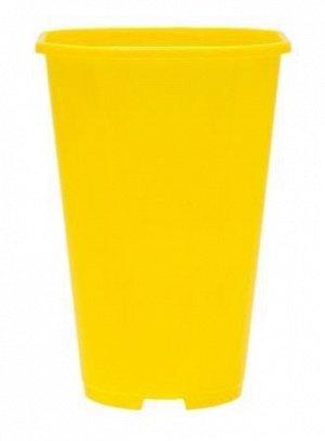 Горшок Роза технолог Р-20 140мм*2лит Жёлтый