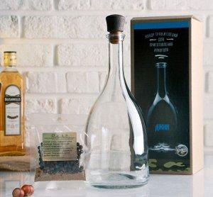 Набор для приготовления напитка Джин (Штоф 1лит+специи+инструкция) 4679652