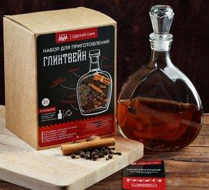 Набор для приготовления напитка Глинтвейн (Штоф 0,5лит+специи+инструкция) 3946967