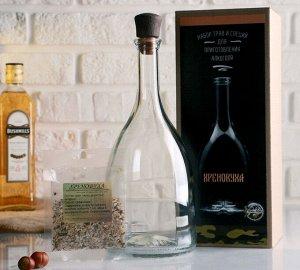 Набор для приготовления напитка Хреновуха (Штоф 1лит+специи+инструкция) 4679658
