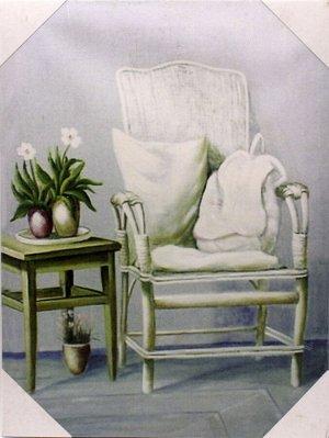 Картина 30*41*2см MD71К183 Кресло со столиком