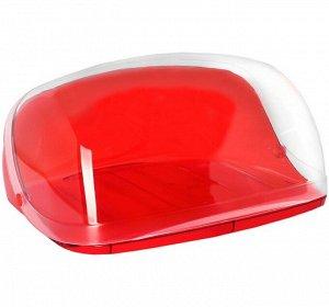 Хлебница Кристалл малая Красная М-1185 (М-пл)