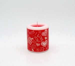 Свеча Подарочная Арома Роза 6185