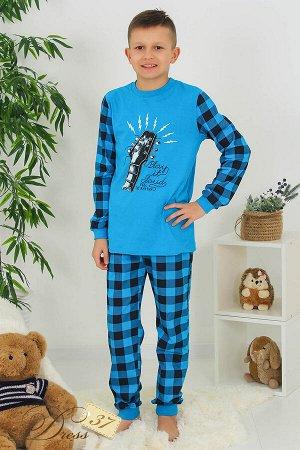 Пижама «Рок» синяя