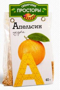 """Цедра апельсина """"Сибирские просторы"""" 40гр."""