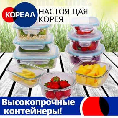 Всё для вашего дома! Техника, посуда, сушилки, многое другое — Высокопрочные контейнеры с крышкой. Южно Корейское качество! — Контейнеры