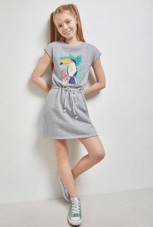 Платье детское для девочек Samyi серый