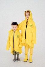 Плащ непромокаемый - дождевик Жёлтый