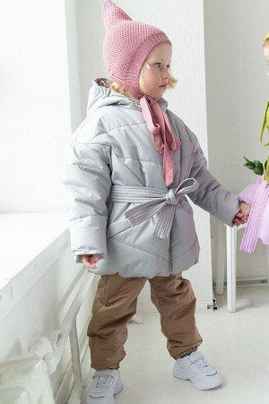 Куртка демисезонная Бонни Серебро