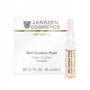 Skin Contour Fluid/Anti-age лифтинг-сыворотка в ампулах с пептидами, стимулирующая
